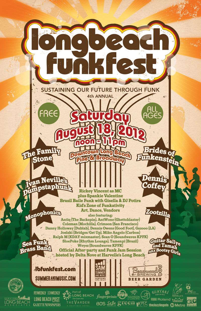 Long Beach Funk Fest 2012